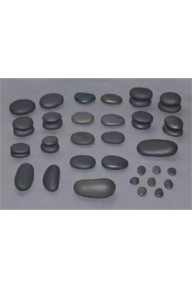 T.I.R. Basalt Portable Spa Stone Set - 38 Pieces
