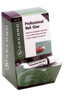 ibd 5 Second Professional Nail Glue - 12 Pack Display
