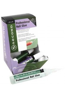 ibd 5 Second Nail Glue - 12 Pack Display