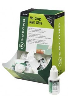 ibd 5 Second No Clog Nail Glue - 12 Pack Display