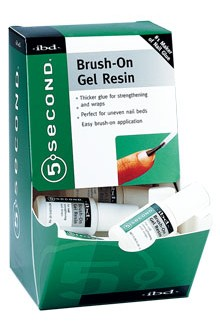 ibd 5 Second Brush-On Gel Resin - 12 Pack Display