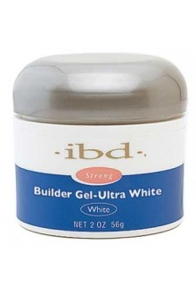 ibd UV Builder Gel - Ultra White - 2oz / 56g