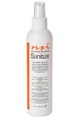 NSI Sanitize - Citrus Scent - 8oz / 236ml