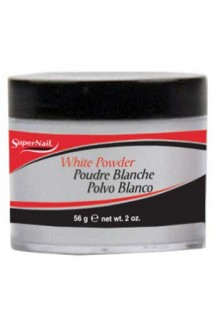 SuperNail White Acrylic Powder - 2oz / 56g