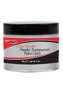 SuperNail Clear Acrylic Powder - 2oz / 56g