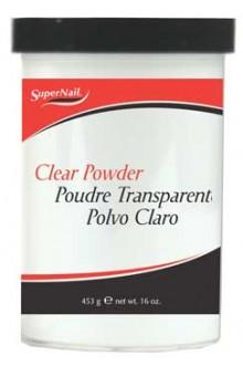 SuperNail Clear Acrylic Powder - 16oz / 453g