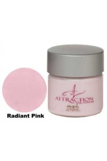 NSI Attraction Nail Powder: Radiant Pink - 1.42oz / 40g