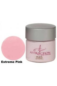 NSI Attraction Nail Powder: Extreme Pink - 1.42oz / 40g