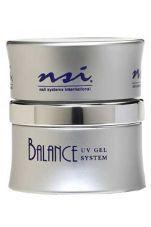 NSI Balance UV Gel: Brush on French White - 0.5oz / 15g