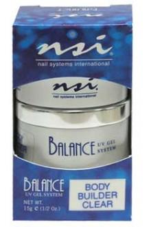 NSI Balance UV Gel Body Builder: Clear - 0.5oz / 15g