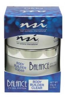 NSI Balance UV Gel Body Builder: Clear - 1oz / 30g