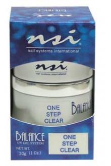 NSI Balance UV Gel: One Step Clear - 1oz / 30g