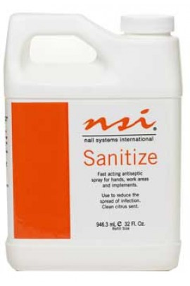 NSI Sanitize - Citrus Scent Refill - 32oz / 946ml