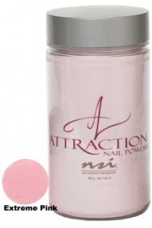NSI Attraction Nail Powder: Extreme Pink - 24.7oz / 700g