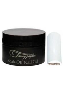 Tammy Taylor Soak Off Gel: Whitest White - 0.5oz / 14.8ml