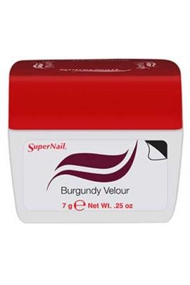 SuperNail Accelerate Soak Off Color Gel Polish - Burgundy Velour - 0.25oz / 7g