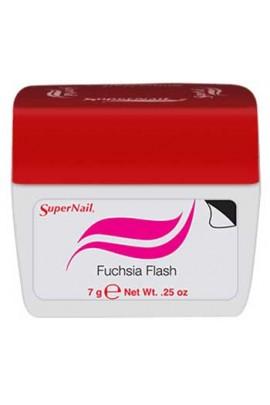 SuperNail Accelerate Soak Off Color Gel Polish - Fuchsia Flash - 0.25oz / 7g