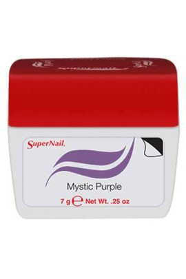 SuperNail Accelerate Soak Off Color Gel Polish - Mystic Purple - 0.25oz / 7g