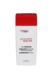 SuperNail Accelerate Soak Off Gel Remover - 4oz / 118ml