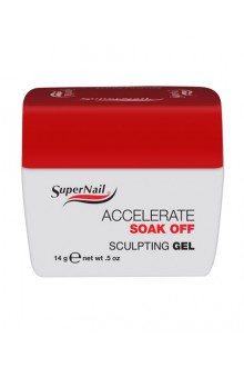 SuperNail Accelerate Soak Off Sculpting Gel - 0.5oz / 14g