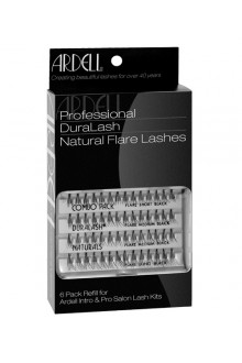 Ardell Natural Lashes Pack - Knot-Free Individuals - Combo Black