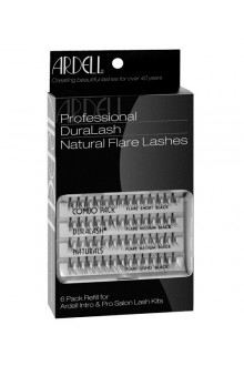 Ardell Natural Lashes Pack - Knot-Free Individuals - Medium Black