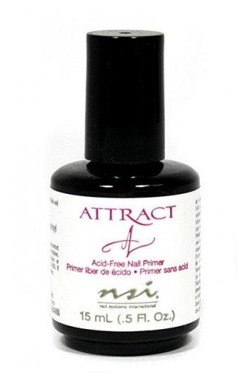 NSI Attract (Acid-Free) Nail Primer - 0.5oz / 15ml