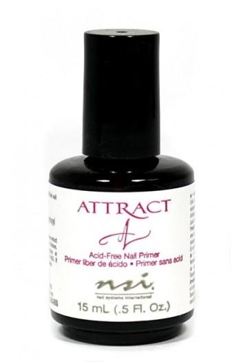 NSI Attract (Acid-Free) Nail Primer - 0.5oz / 15ml