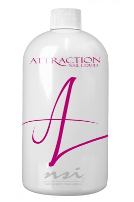 NSI Attraction Nail Liquid - 16oz / 473.1ml