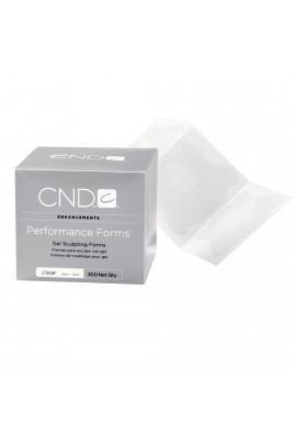 CND Performance Forms - Clear - 300ct