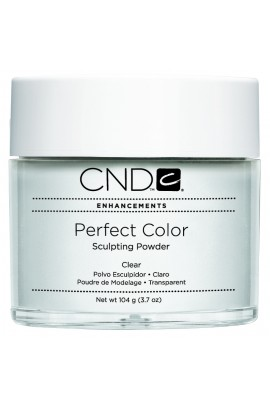 CND Perfect Color Powder - Clear - 3.7oz / 104g