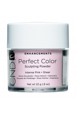 CND Perfect Color Powder - Intense Pink - Sheer - 0.8oz / 22g