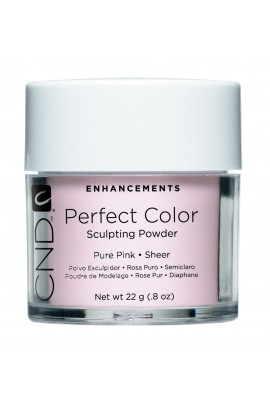 CND Perfect Color Powder - Pure Pink - Sheer - 0.8oz / 22g