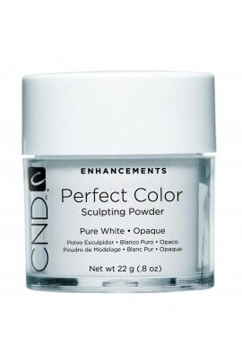 CND Perfect Color Powder - Pure White - Opaque - 0.8oz / 22g