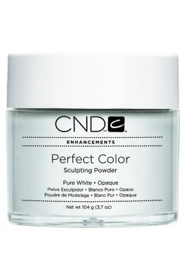 CND Perfect Color Powder - Pure White - Opaque - 3.7oz / 104g