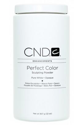 CND Perfect Color Powder - Pure White - Opaque - 32oz / 907g