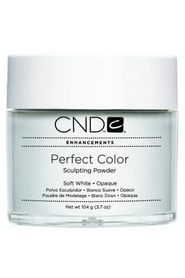 CND Perfect Color Powder - Soft White - Opaque - 3.7oz / 104g