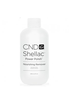 CND Shellac Power Polish - Nourishing Remover -  8oz / 236ml