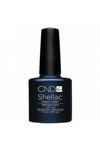 CND Shellac Power Polish - Midnight Swim - 0.25oz / 7.3ml