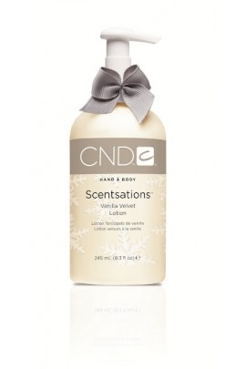 CND Scentsations - Vanilla Velvet Lotion - 8.3oz / 245ml