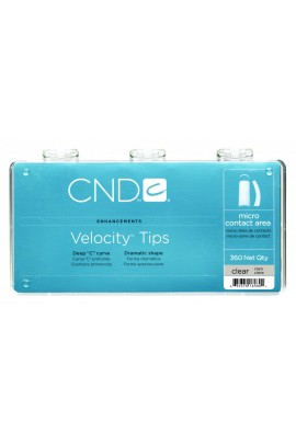 CND Velocity Tips - Clear - 360ct