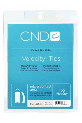 CND Velocity Tips - Natural - 100ct