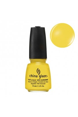 China Glaze Nail Polish - Electro Pop Collection - Sunshine Pop - 0.5oz / 14ml