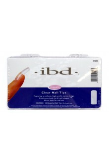 ibd Clear Nail Tips - 100ct