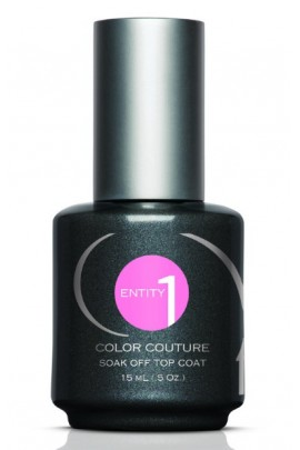 Entity One Color Couture Soak Off Top Coat - 0.5oz / 15ml