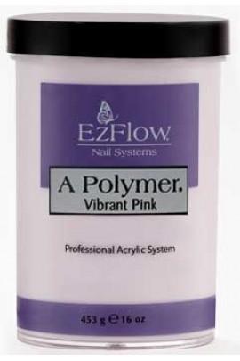 EzFlow A Polymer Powder: Vibrant Pink - 16oz / 453g