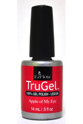 EzFlow TruGel LED/UV Gel Polish - Apple of My Eye - 0.5oz / 14ml