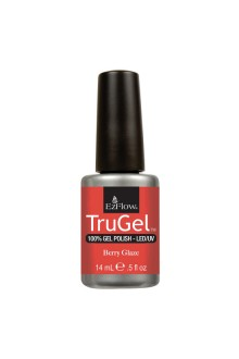 EzFlow TruGel LED/UV Gel Polish - Berry Glaze - 0.5oz / 14ml