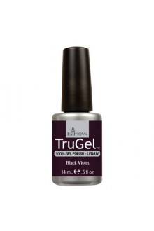 EzFlow TruGel LED/UV Gel Polish - Black Violet - 0.5oz / 14ml