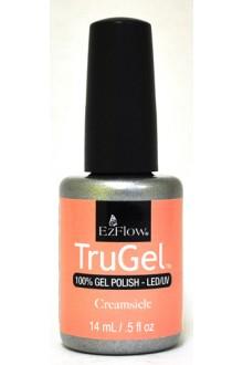 EzFlow TruGel LED/UV Gel Polish - Creamsicle - 0.5oz / 14ml